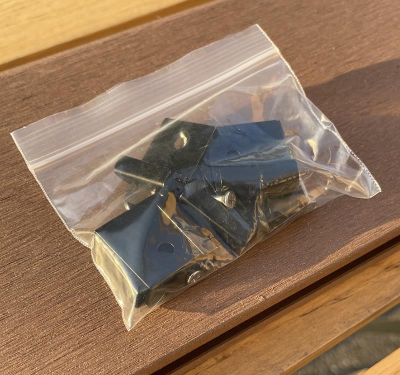 人工木デッキ床板固定金具